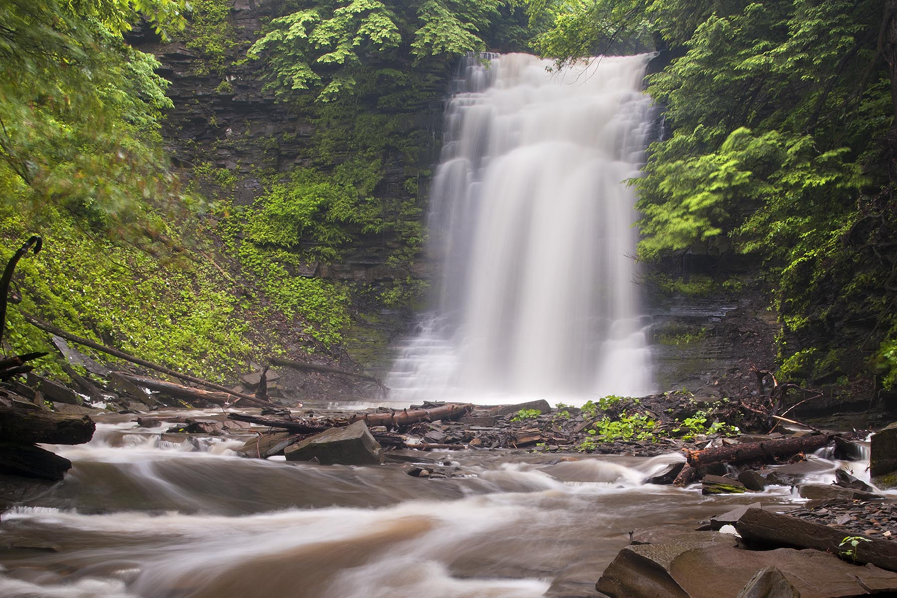 Dover Stone Church Cave Waterfall – Dover Plains