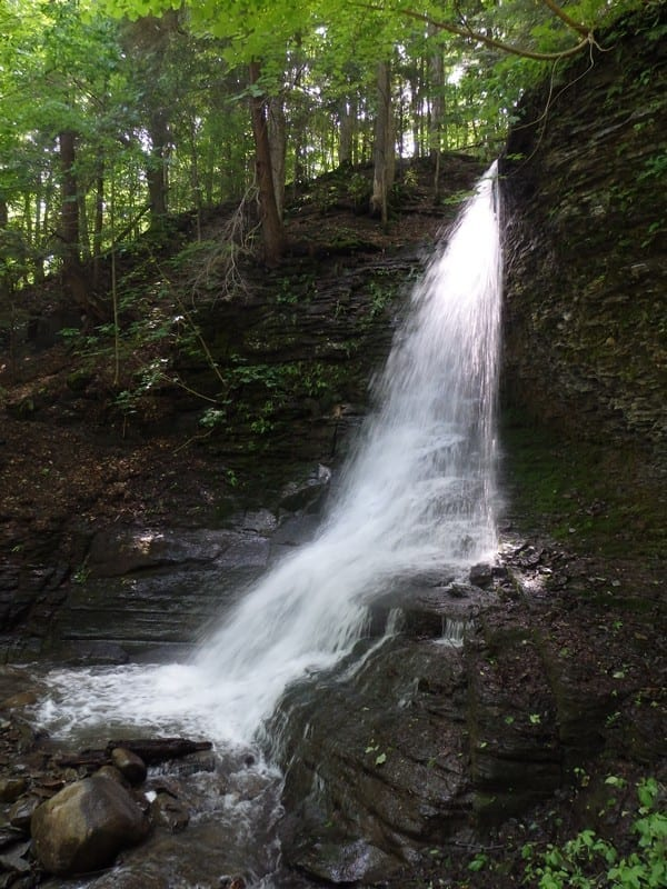 Buckley Hollow, Falls #3 – Oxford, Town of, Chenango