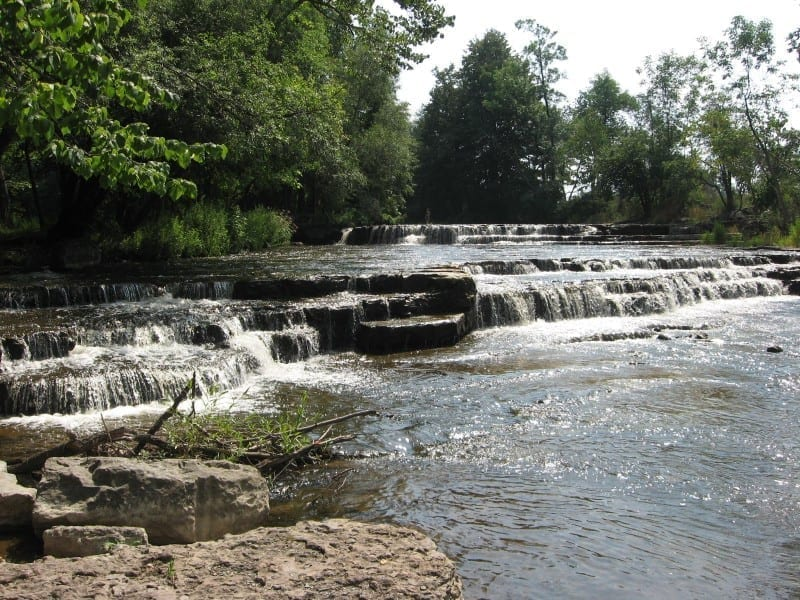 Dresserville Creek, falls on – Hopewell Junction, Cayuga