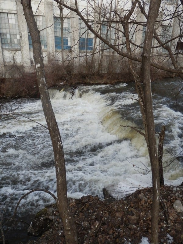 North Branch Grass River Rapids – Clare, Town of, St. Lawrence