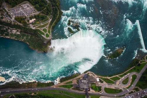 What is the biggest waterfall in New York?